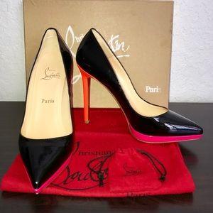25f63519c6d Christian Louboutin Shoes - Christian Louboutin Pigalle Plato 120 Colorblock